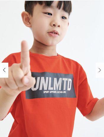 Reserved новая крутая футболка с мальчику р. 110, 146, 152. Мягкая и п