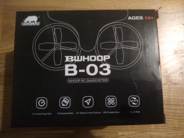 Dron Boldclash B-03, 2.4ghz Tiny Whoop Pawłowice - image 1