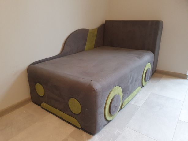 Łóżko dziecięce autko