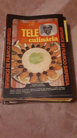 Coleção revistas da Teleculinária