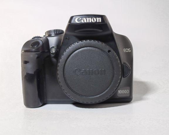 Canon eos 1000d + obiektyw 18-55
