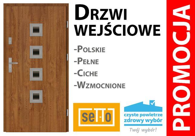Drzwi STALOWE do domu POLSKIE. Gróbe, ciche, trawłe. POMIAR GRATIS !!