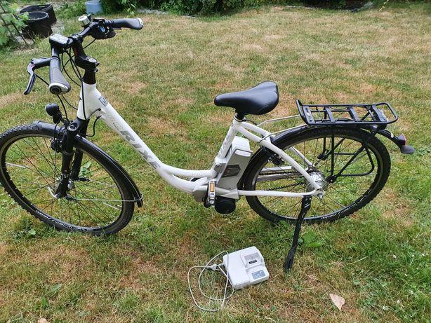 Rower elektryczny Rixe duza bateria