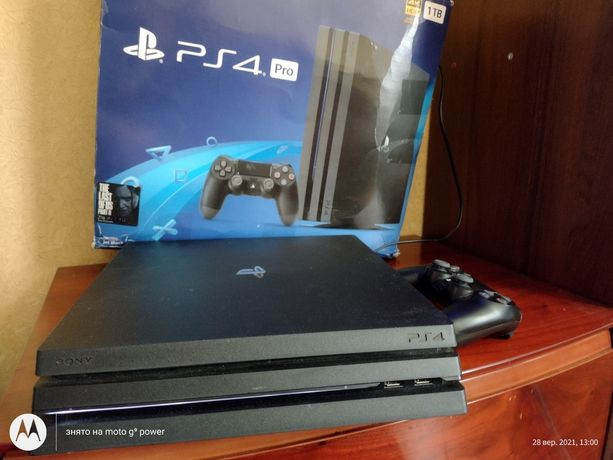 Sony PS4 Pro 1T.