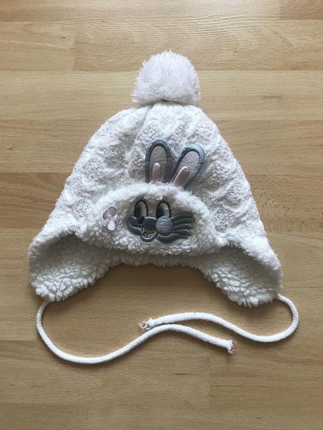 Тепла зимова польська шапка на 2-3  роки на головку 48-50