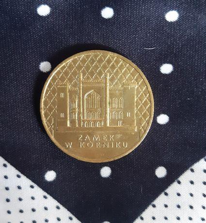Moneta 2 złote Zamek w Kórniku z 1998 roku