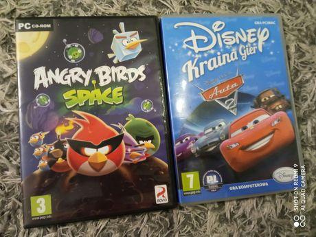 Gry na PC Auta2 i Angry Birds Space