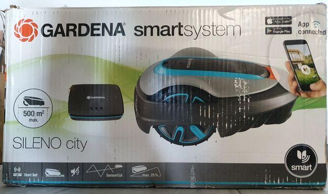 NOWA Gardena Sileno Smart City 500m2 smartsystem komplet