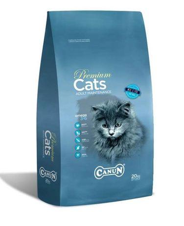 Karma dla kota CANUN CAT COMPLETE PREMIUM z witaminami 20 kg