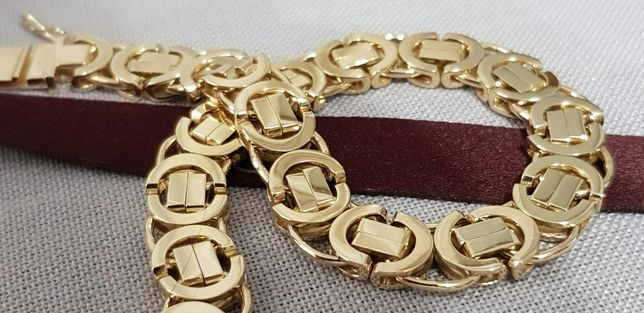 Złota bransoletka o wzorze CARTIER 585 14k