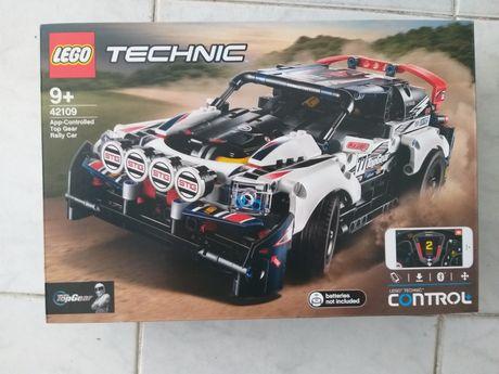 Lego Technic 42109 App Controlled Top Gear Rally Car Novo Selado