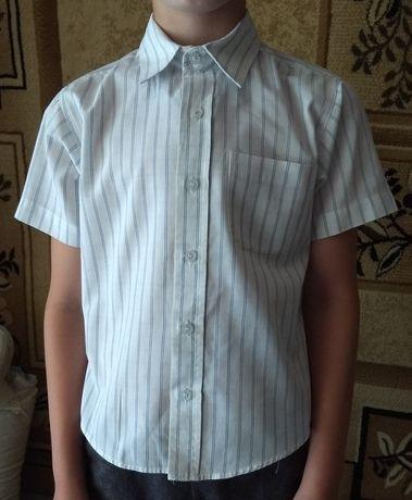 Летняя рубашка 5-6 лет 116 см