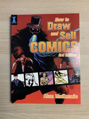 How to draw and sell comics Alan McKenzie ksiazka komiks marvel dc