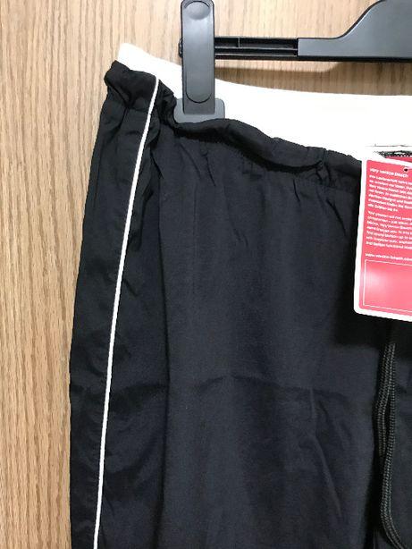 Spodnie dresowe czarne z prążkiem NOWE r.44 BonPrix Plus size
