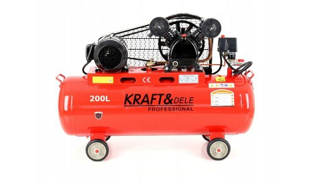 Sprężarka kompresor 200l 5,9km 400v 690l 2tłoki