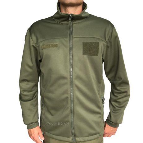 SOFTSHELL ocieplacz - bluza wojskowa 128Z/MON