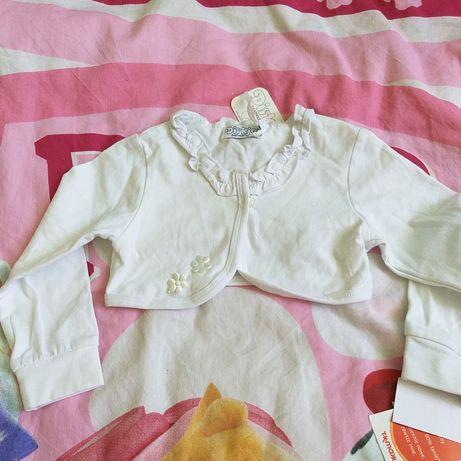 Komplet ubranek, zestaw ubranek, getry, bluzeczka, bolerko