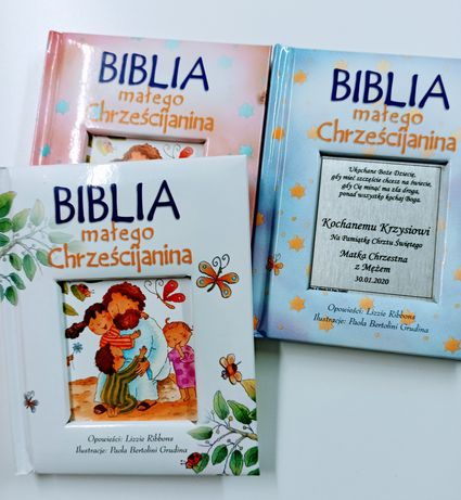 Biblia na Chrzest Święty