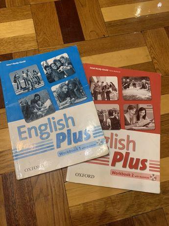 English Plus Workbook 1, 2  - 40 грн