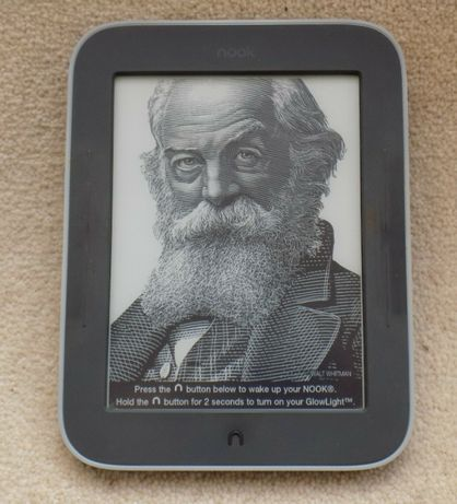 Электронная книга Barnes & Noble NOOK Simple Touch (BNRV300)