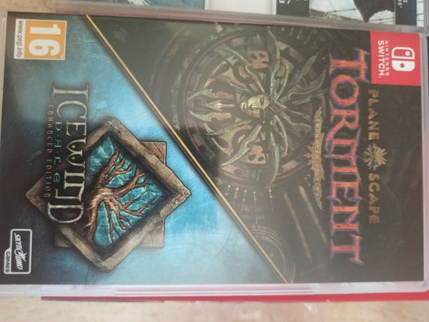 Planescape Torment Icewind dale Nintendo switch