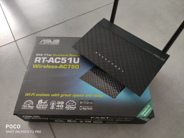 Router RT-AC51U Dual-band