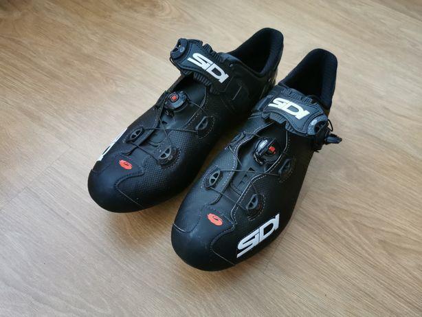 Sapatos Encaixe topo de gama Sidi Wire 2 Sola carbono Como novos