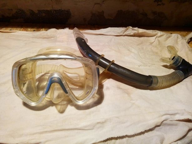 маска для дайвинга TUSA с трубкой Hydrix