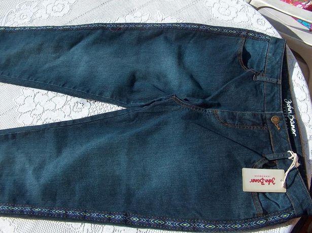 jeansy nowe spodnie 42 John Baner