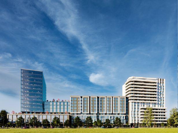 ЖК Washington City, однокімнатна квартира 43,24 кв. м