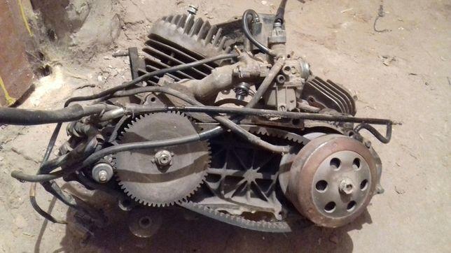 Двигатель Honda dio 27, мотор хонда дио для мопеда
