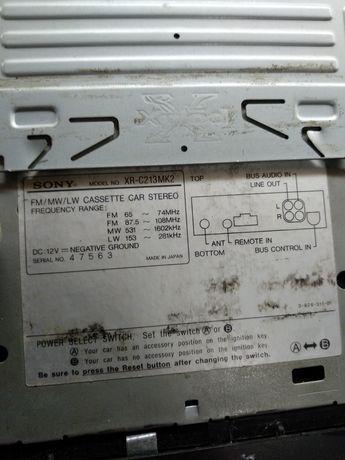 Кассетная магнитола Sony