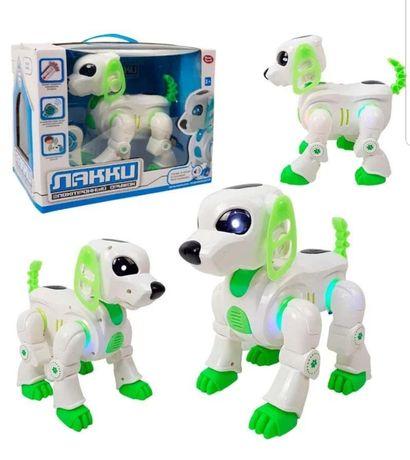 """Собака - робот на радиоуправлении """"Лакки"""" 7588"""