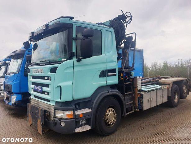 Scania R 420 6x2 HAKOWIEC + DŹWIG