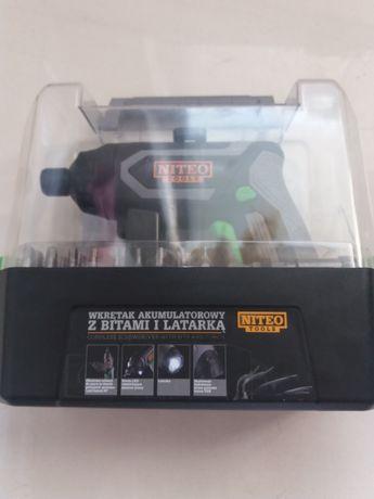 Wkrętak Akumulatorowy NITEO TOOLS 3,6V 1300mAh