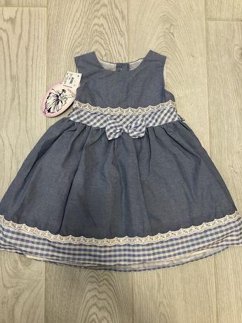 Детское нарядное платье La Princess. Новое! Для двойни