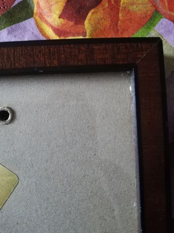 Рамка для фото под стеклом Германия бакелитовая фурнитура