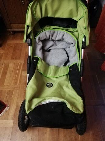 Wózek spacerówka Xlander III soczysta zieleń z torbą