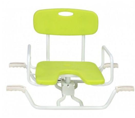 Cadeira giratória de banho p/ banheira