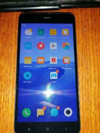 Xiami Redmi Note 5a в отличном состоянии, ни одной царапины - 4500