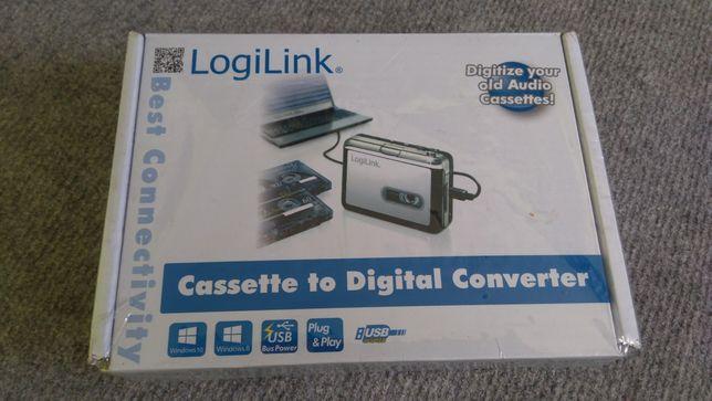 Konwerter nagrań kasetowych na cyfrowe LogiLink