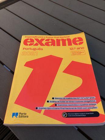 Livro de preparação para o Exame Final Nacional Português do 12.º ano