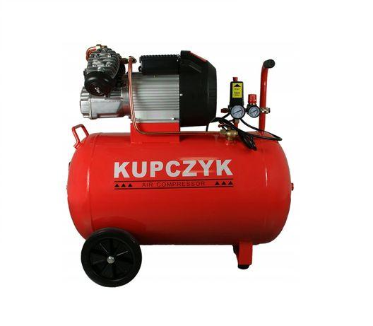Kompresor pompa sprężarka dwutłokowa 370l/min zb.100L Wys.0zł KupczyK