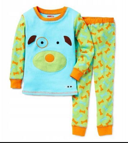 Piżama pies 110 Skip hop koszulka bluzka spodnie piesek bawełniana