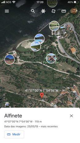 Ruina vistas sobre o Douro