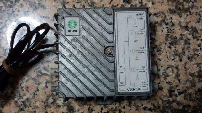 amplificador de sinal de TV ikusi CBS-734