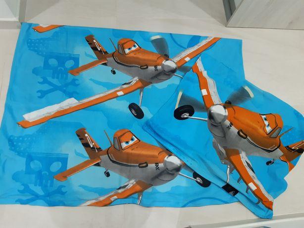 Pościel Polar Samoloty Disney 140x200
