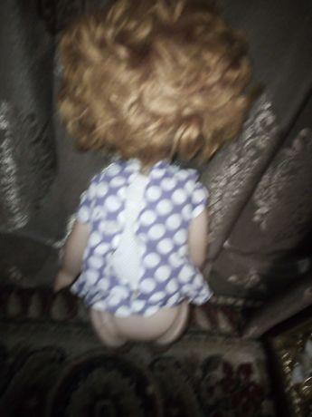 Кукла СССР девочка в тапочках