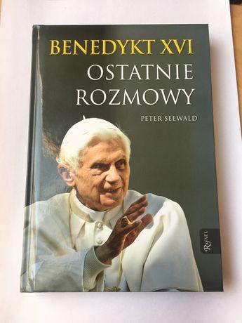 KSIĄŻKA Ostatnie rozmowy Benedykt XVI Peter Seewald
