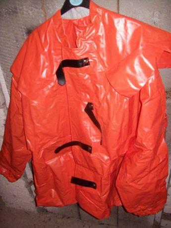 strój wędkarski na kuter deszczoodporny gumowany